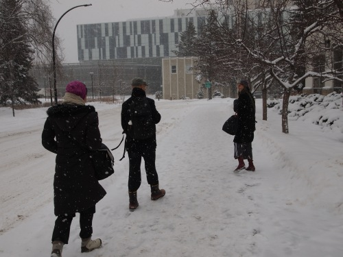 While Toronto has been flirting with a January thaw, the company has been facing a real winter on campus in Calgary.