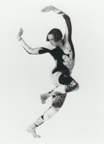 Peggy circa 1994 in Brute. Photo: Lois Greenfield