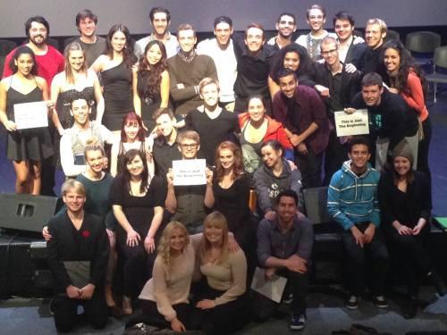 Sheridan Theatre Class of 2015