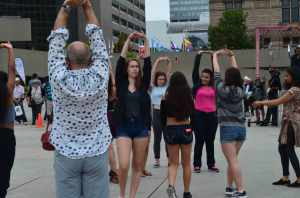 Rosedale Students at FluxDelux PANAMANIA, August 2015.